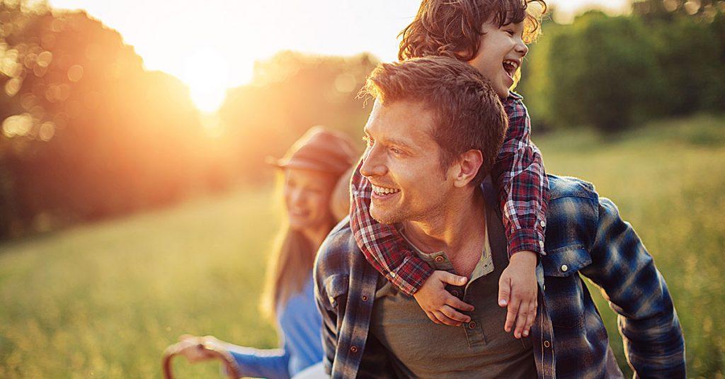 relacionamento com filhos